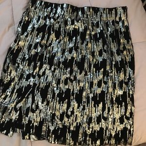 Calvin Klein Sequin Skirt